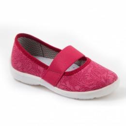 Туфли текстильные 17-922-3 Размеры 23-28