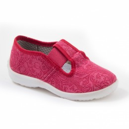 Туфли текстильные 17-923-3 Размеры 23-28