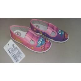 Туфли текстильные 18-923-С Размеры 23-28