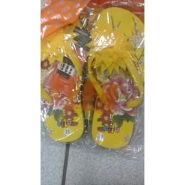 Пляжная обувь (лилия) желт