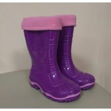Сапоги ПВХ Дюна 230/02 УФ фиолетовый. Размеры 27-32