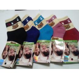 Детские носки теплые Ланю 8312-5 бамбук размер S
