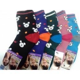 Детские носки теплые Ланю 8312-5 бамбук размер L