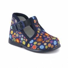 Туфли текстильные 16-110-6 (17-21)