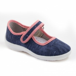 Туфли текстильные 17-921-2 (23-28)