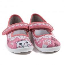 Туфли текстильные 18-921-к Размеры 23-28