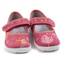 Туфли текстильные 18-921-о Размеры 23-28