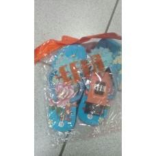 Пляжная обувь (лилия) голуб
