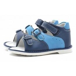 Сандалии Nordman 133160-03 синие (22-26)
