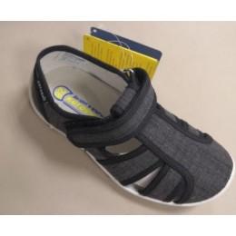 Туфли текстильные 421013-15 черный