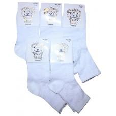 Детские носки Полет 343 белые 5-7 хлопок